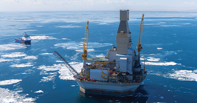 orlan offshore rig