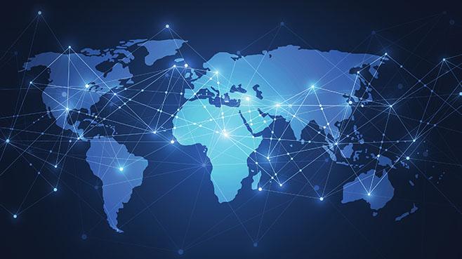 world map tech